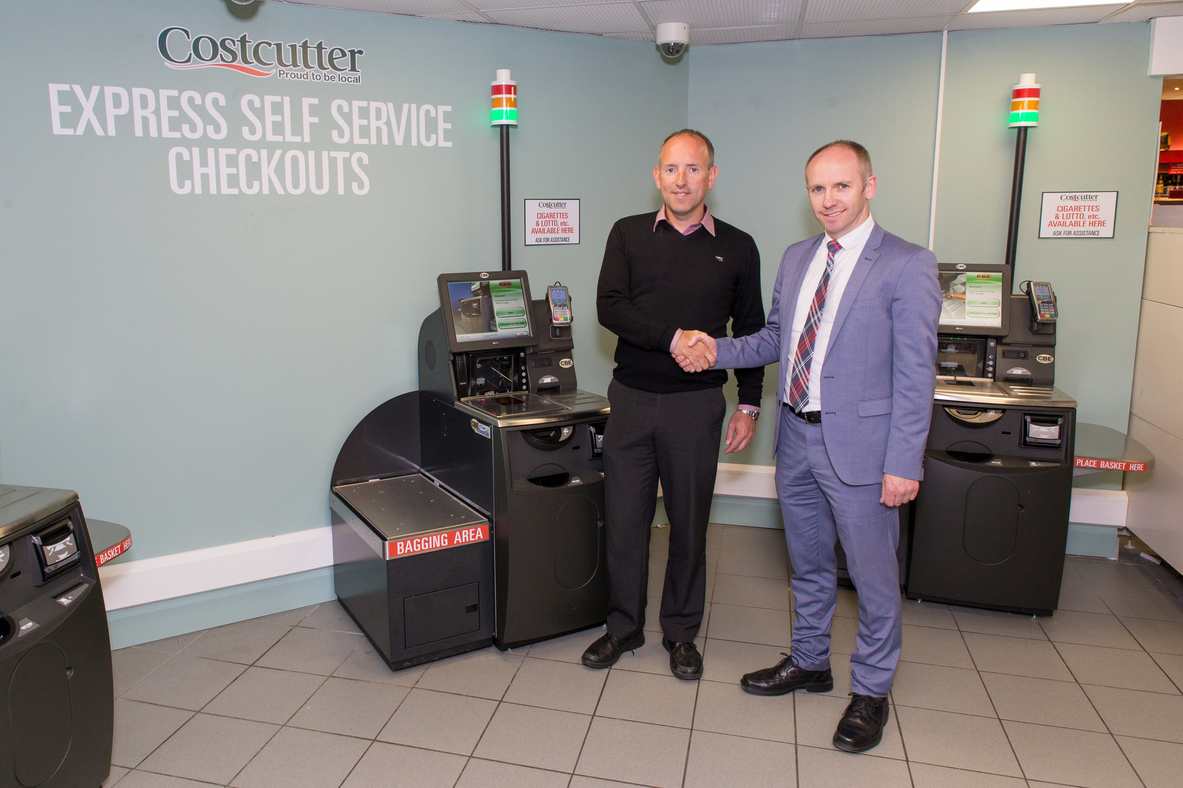Doherty's Carndonagh installs Costcutter's first Self-Checkout in the country from CBE