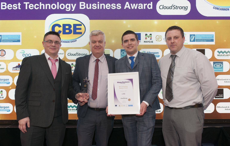 CBE win Best Technology Business