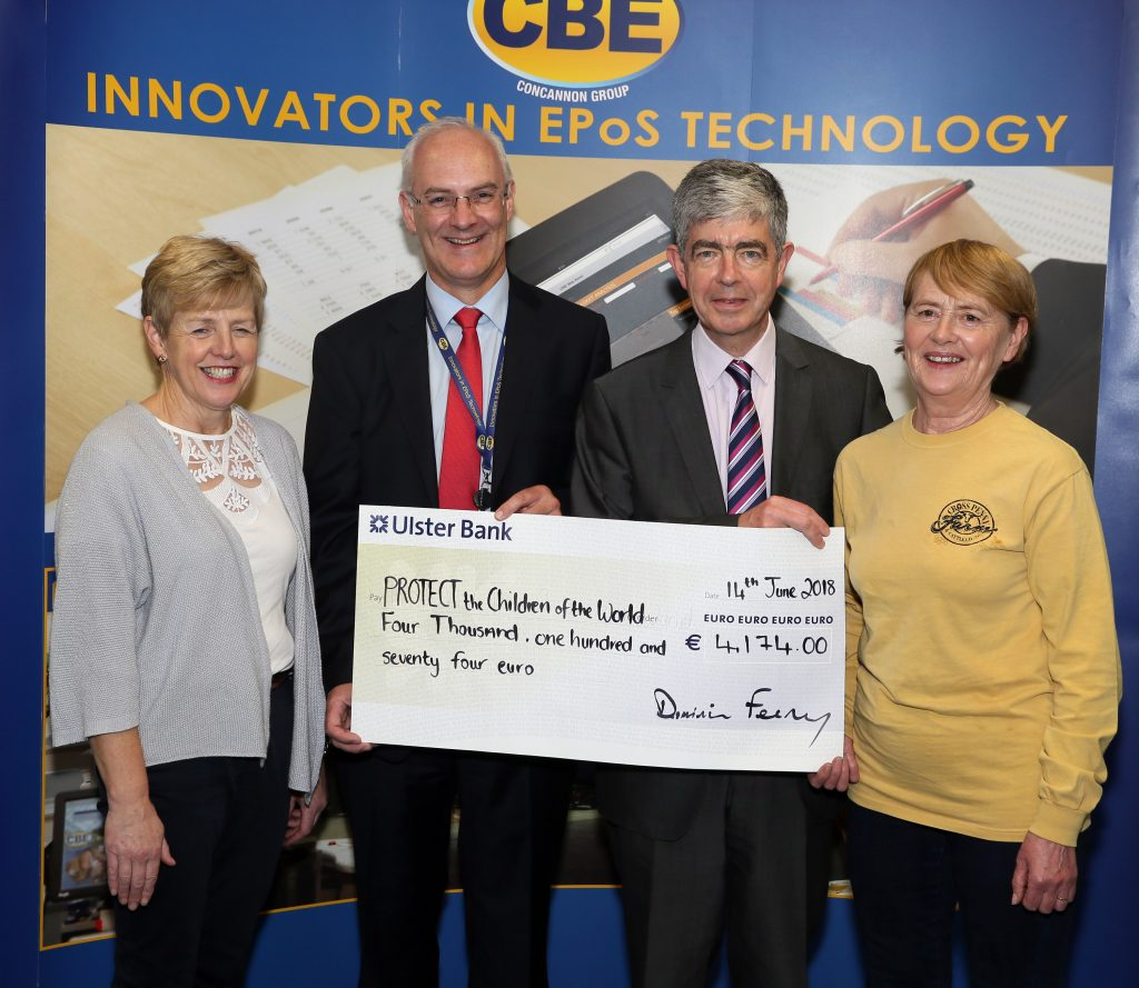 CBE raise over €4,000 for PROTECT the Children Charity