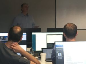 CBE's Software Development Director presents at Code Institute
