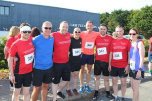 CBE team participates in 5k fun run for ISPCC