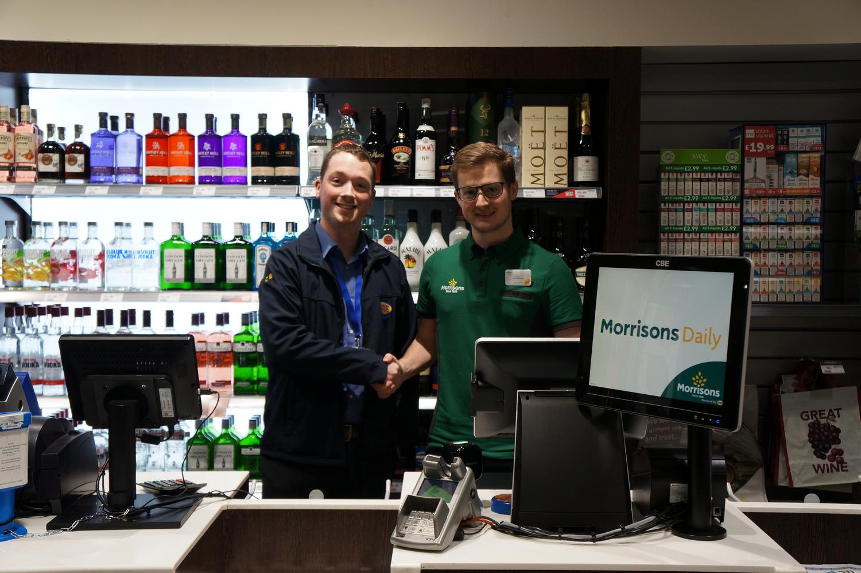 Harvest Energy choose CBE for partner store with Morrisons