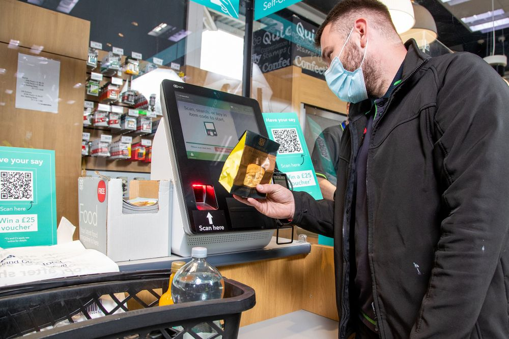 CBE partner with Central England Co-Operative in self-checkout trial