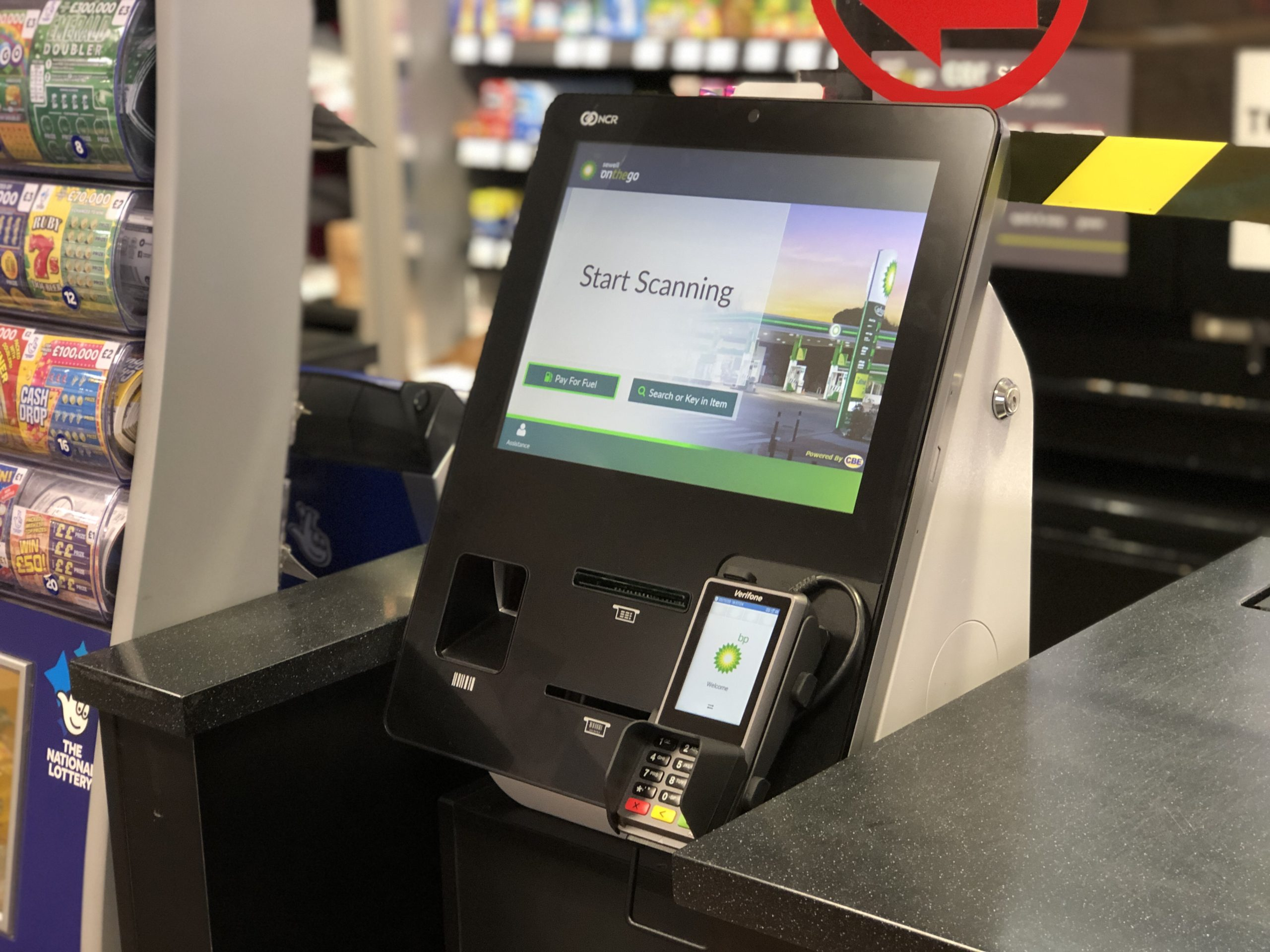 Sewell's Sutton install CBE's 'Fuel on Self-Checkout' innovation