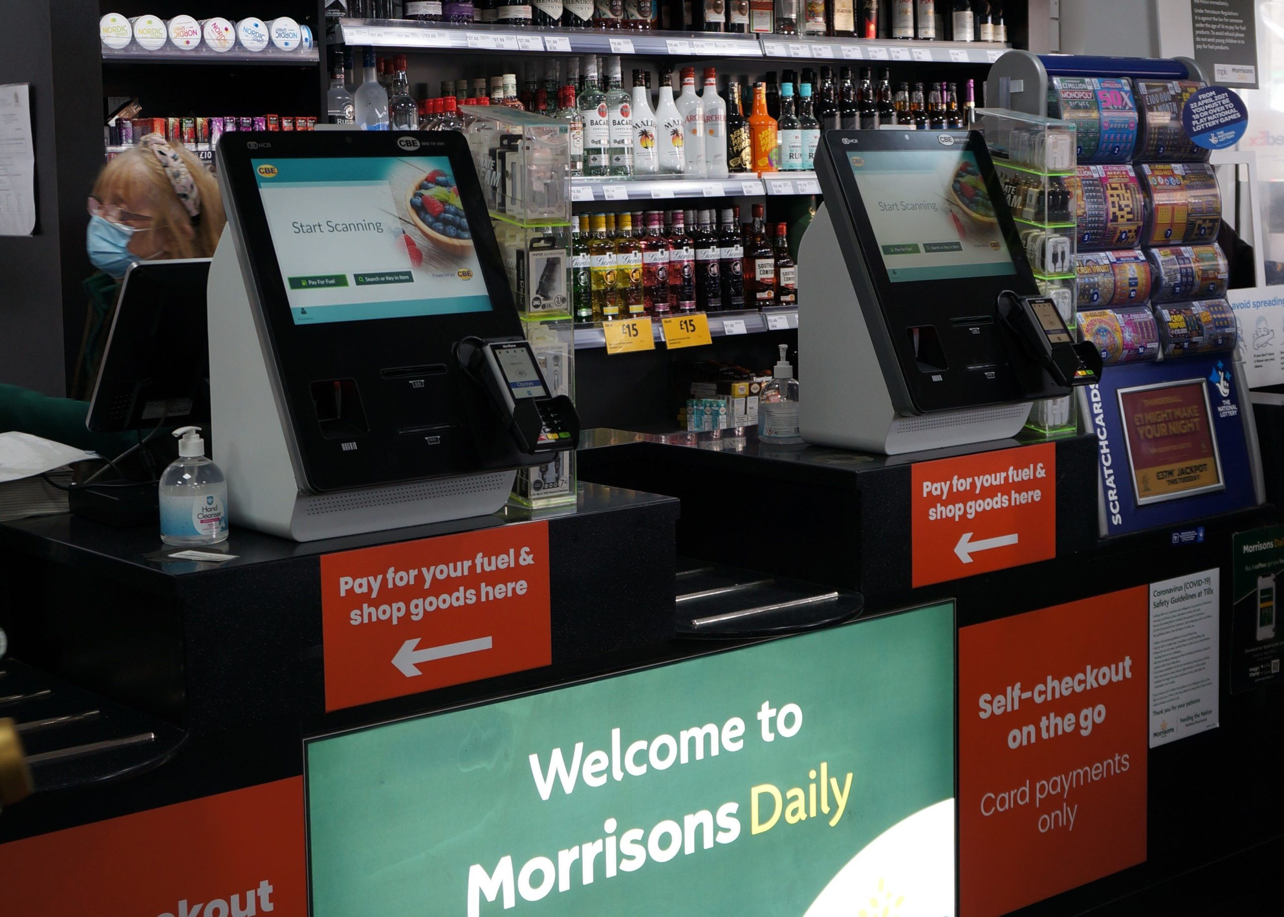 MPK Garages Riverside – Fuel on Self-Checkout