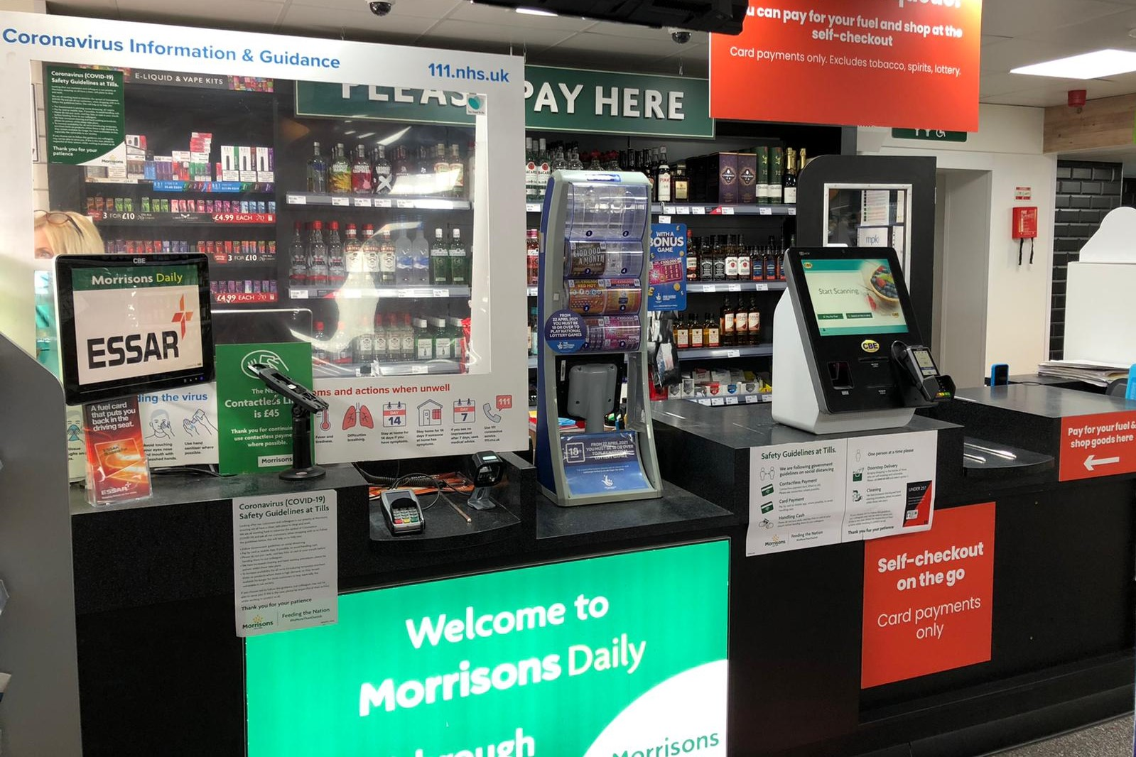 MPK Garages Doncaster – Fuel on Self-Checkout