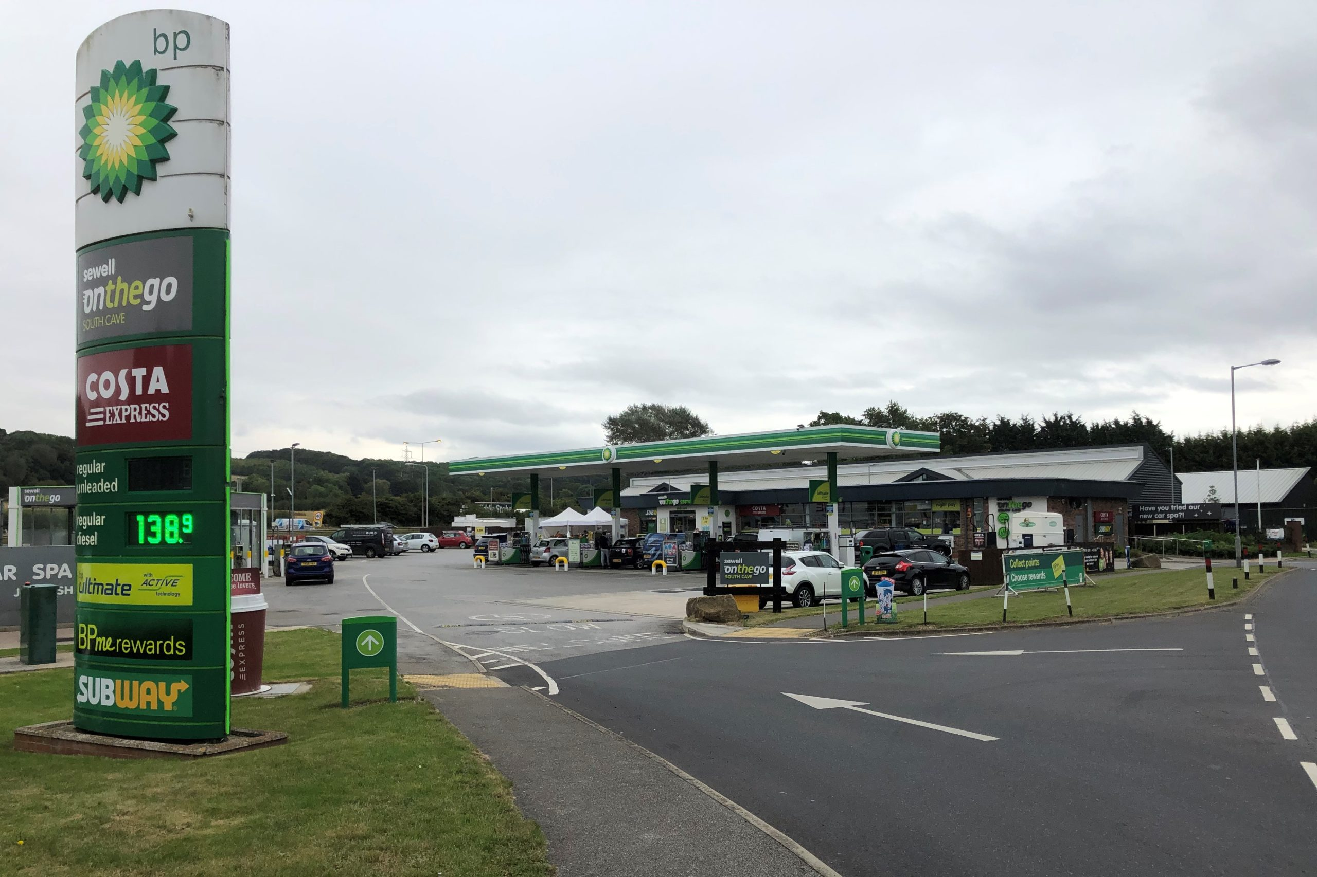 Read more about the article South Cave Service Station